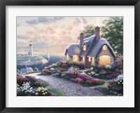 Island Lighthouse Framed Print