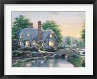 Drake's Cottage Garden Framed Print
