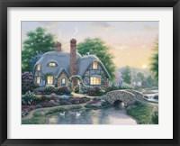 Framed Drake's Cottage Garden