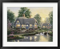 Great Cottage Walkway Framed Print
