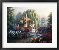 Cranfield Gardens Framed Print