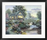 Framed Serenity Cottage