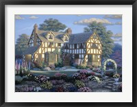English Tudor Framed Print