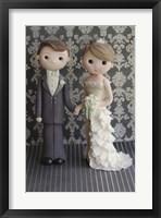 Bride And Groom 2 Framed Print