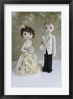Bride And Groom Magazine Shoot Framed Print