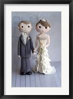 Bride And Groom Nov 14 Framed Print