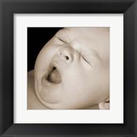 Framed Baby Yawn