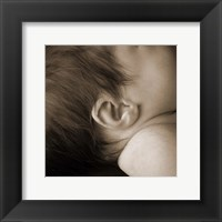 Framed Baby Ear I