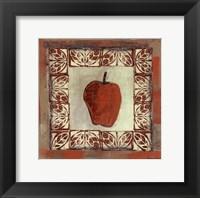 Framed Sketched Apple