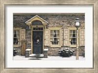 Framed Welcome Home Winter
