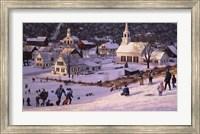 Framed Hillside Flyers