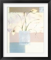 Framed Abstract Floral II