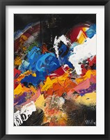 Abstract Black 2 Framed Print
