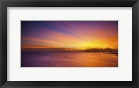Framed Kakaako Sunset