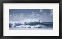 Framed Pipeline Surfer
