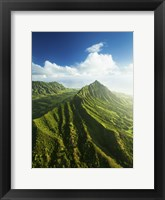 Framed Kualoa Valley