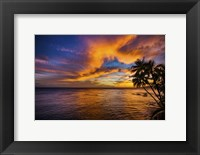 Framed Gold Coast Sunset 1