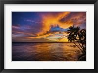 Framed Gold Coast Sunset 1