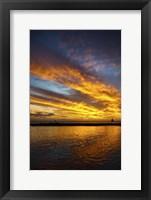 Framed Hyatt Sunset