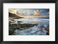 Framed Kaena Point Sunset