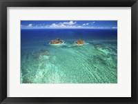 Framed Lanikai Reef