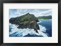 Framed Stormy Makapu'u