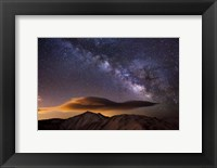 Framed Milky Way Over The Rockies