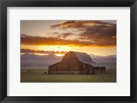 Framed Wet Mountain Barn II