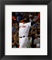 Framed David Ortiz 2015 Action