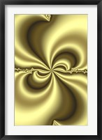 Framed Twirls Gold