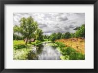 Framed River Scene