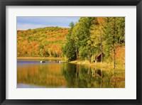 Framed Athens Pond, VT