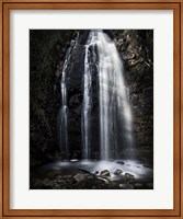 Framed Waterfall Gully Second Falls