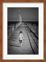 Framed Lonely Jetty