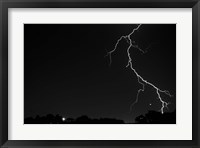 Framed Lightning Crashes