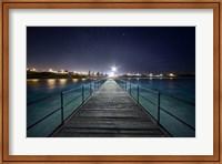 Framed Port Noarlunga After Dark