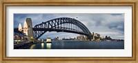 Framed Sydney Harbour