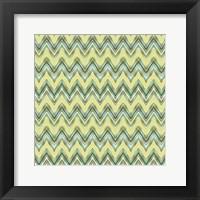Framed Chevron Waves III