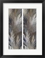 2-Up Pampas Panels I Framed Print