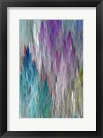 Brush Panels I Framed Print