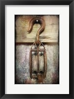 Block & Tackle I Framed Print