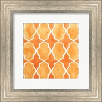 Framed Watercolor Tiles IX