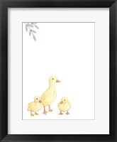 Framed Baby Animals III