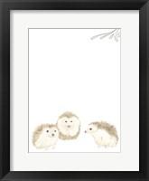Baby Animals IV Framed Print
