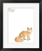 Baby Animals V Framed Print