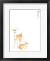 Baby Animals VI Framed Print