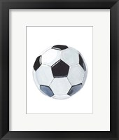 Sporting VI Framed Print
