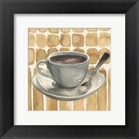 Framed Cafe au Lait II