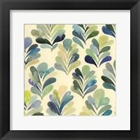Watercolor Palms I Framed Print