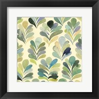 Framed Watercolor Palms II